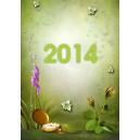 Kalendarz wieloplanszowy ze zdjęciem Klasyczny