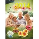 Kalendarz wieloplanszowy A3 na Dzien Babci i Dziadka